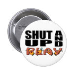 SHUT UP AND PLAY (Golf) Buttons