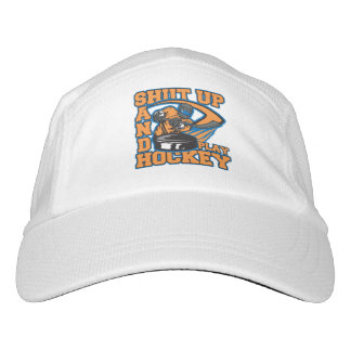 Shut Up and Play Hockey Hat