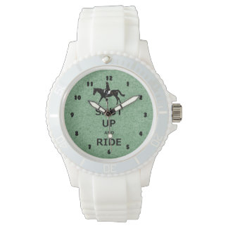 Shut Up and Ride! Equestrian Horse Watch