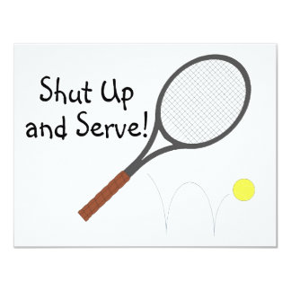 Shut Up And Serve 2 Card