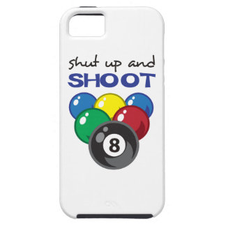 SHUT UP AND SHOOT iPhone 5 COVERS