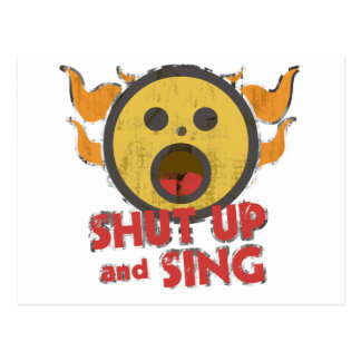 Shut Up and Sing Postcard