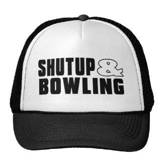 Shut up & BOWLING Trucker Hat