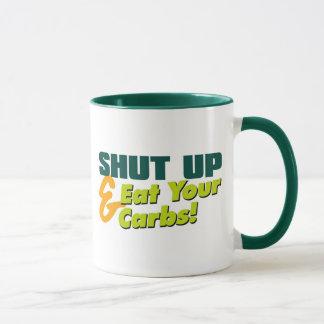 Shut Up Carbs Drinkwear Mug