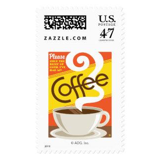 Shut up Coffee Postage