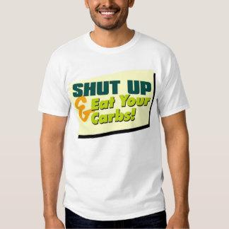 Shut Up & Eat Your Carbs - Foods #2 T-shirt