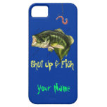 Shut Up & Fish - Large Mouth Bass iPhone 5 Covers