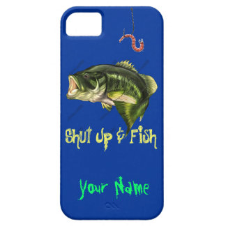 Shut Up & Fish - Large Mouth Bass iPhone SE/5/5s Case