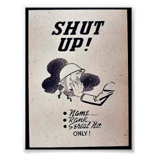 Shut Up! Poster