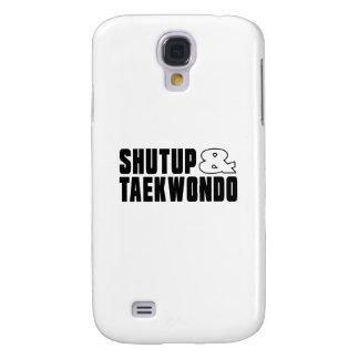 Shut up & TAEKWONDO Samsung Galaxy S4 Case