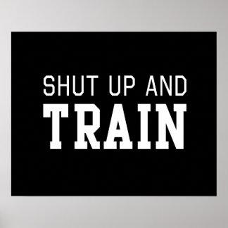 Shut Up & Train Poster