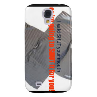shut your mouth cell phone case galaxy s4 cases