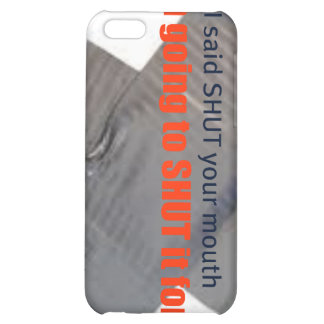 shut your mouth cell phone case iPhone 5C covers