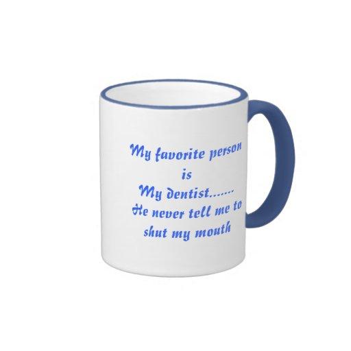 shut your mouth ringer coffee mug