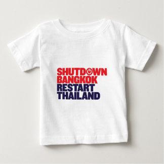 Shutdown Bangkok Restart Thailand Baby T-Shirt