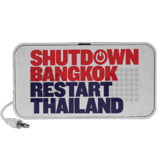 Shutdown Bangkok Restart Thailand Mp3 Speakers