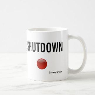 Shutdown Coffee Mug