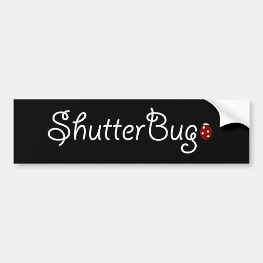 Shutter Bug Bumper Sticker
