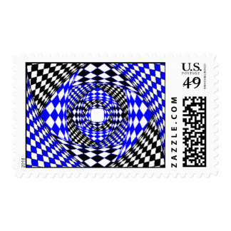 Shutter design single image postage