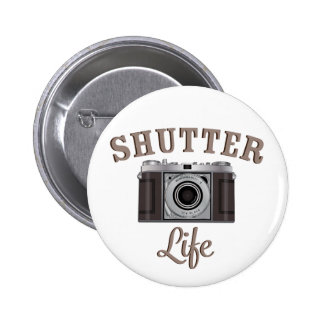 Shutter Life Retro Camera Button