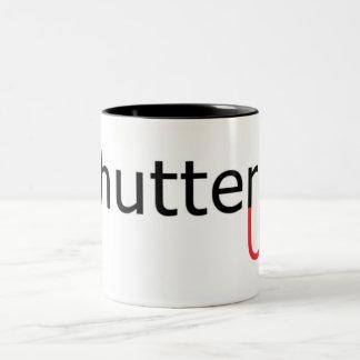 Shutter Up Two-Tone Coffee Mug