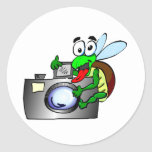 Shutterbug Classic Round Sticker