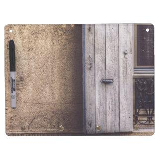 Shuttered Dry-Erase Whiteboard