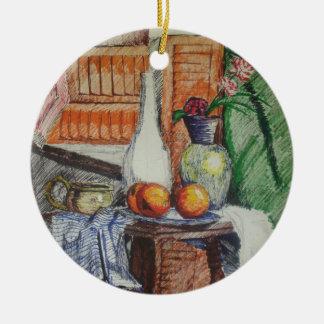 Shutters Ceramic Ornament