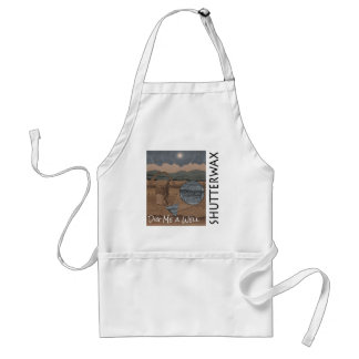 Shutterwax - Dig Me a Well Album Cover Adult Apron