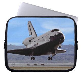 Shuttle Atlantis Landing at Edwards Computer Sleeve