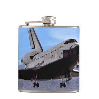 Shuttle Atlantis Landing at Edwards Flask
