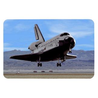 Shuttle Atlantis Landing at Edwards Magnet