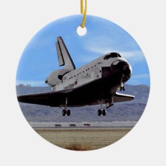 Shuttle Atlantis Landing at Edwards Ornament