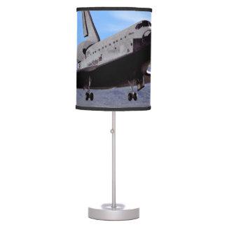 Shuttle Atlantis Landing at Edwards Table Lamp