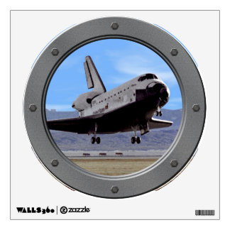 Shuttle Atlantis Landing at Edwards Wall Graphics