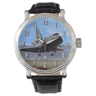 Shuttle Atlantis Landing at Edwards Wrist Watch