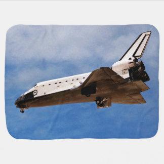 Shuttle Atlantis STS-30 Landing Receiving Blanket
