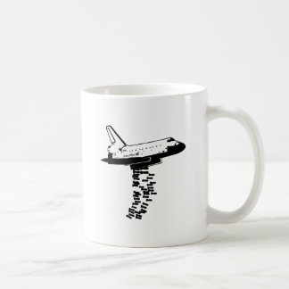 Shuttle Bomber Coffee Mugs