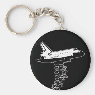 Shuttle Bomber Keychain
