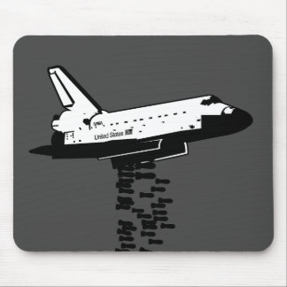 Shuttle Bomber Mouse Pad