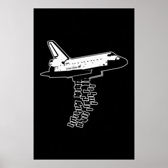 Shuttle Bomber Poster