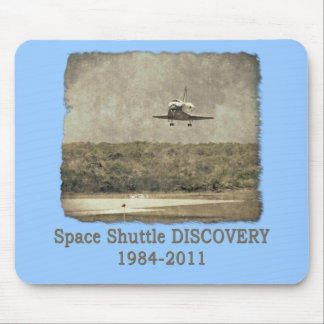 Shuttle DISCOVERY Final Landing Mouse Pad