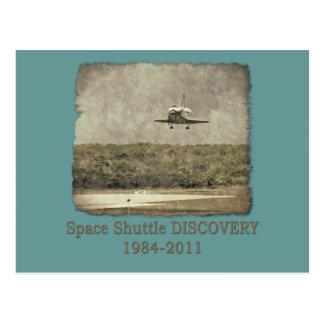 Shuttle DISCOVERY Final Landing Postcard