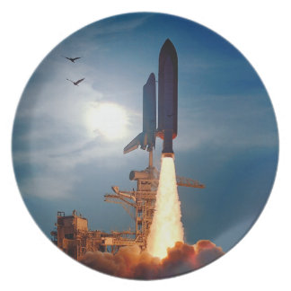 Shuttle Discovery Launch STS-64 Plate