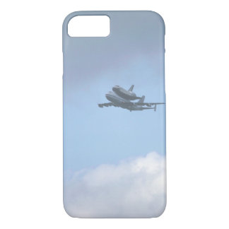 "Shuttle ""Discovery"" near_Military Aircraft iPhone 8/7 Case"