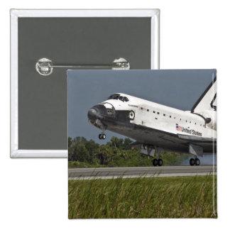 Shuttle Endeavour landing Kennedy Space Center Button