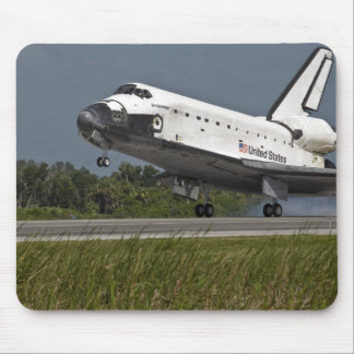 Shuttle Endeavour landing Kennedy Space Center Mouse Pad