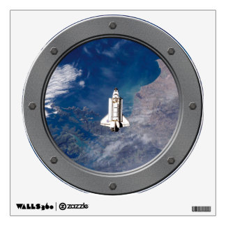 Shuttle Endeavour STS-113 Porthole Wall Graphic