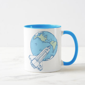 Shuttle in Orbit Mug