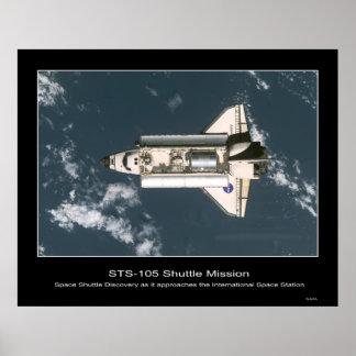 Shuttle-iss002e9749 Poster
